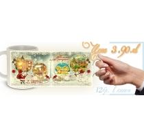Още Снимки - Коледни чаши с Вашето Рекламно Послание :: Фирмени Подаръци #16-9