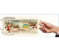 Коледни чаши с Вашето Рекламно Послание :: Фирмени Подаръци #16-9